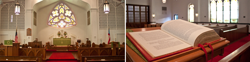 Sanctuary and Bible